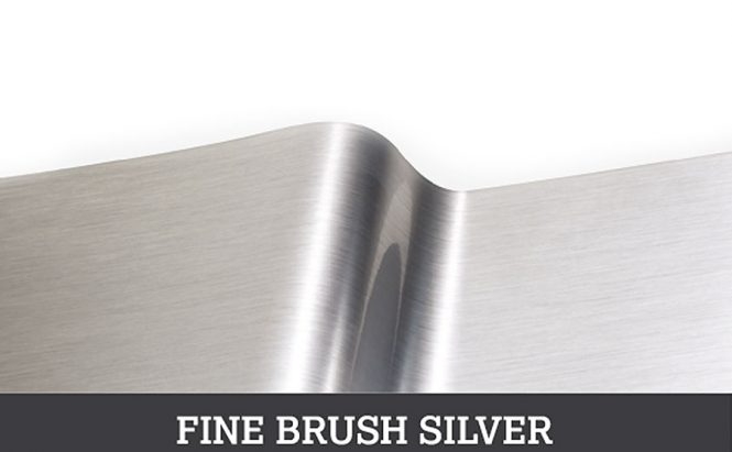 Fine Brush Silver metallic vinyls