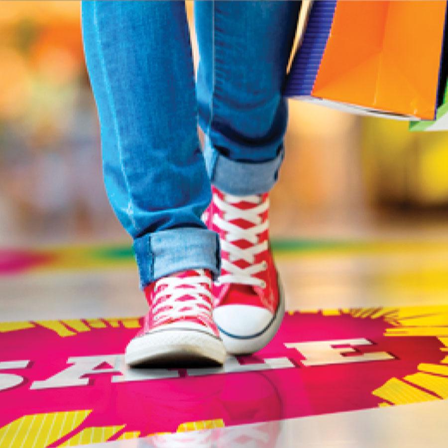 Ritrama Floor Talker Self Adhesive Promotional Vinyl Graphics