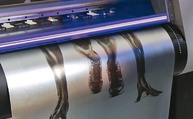 Printed metallics vinyls