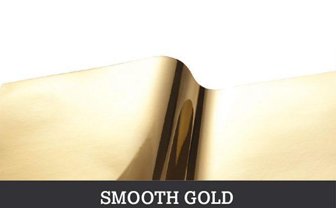 Smooth Gold metallic vinyls