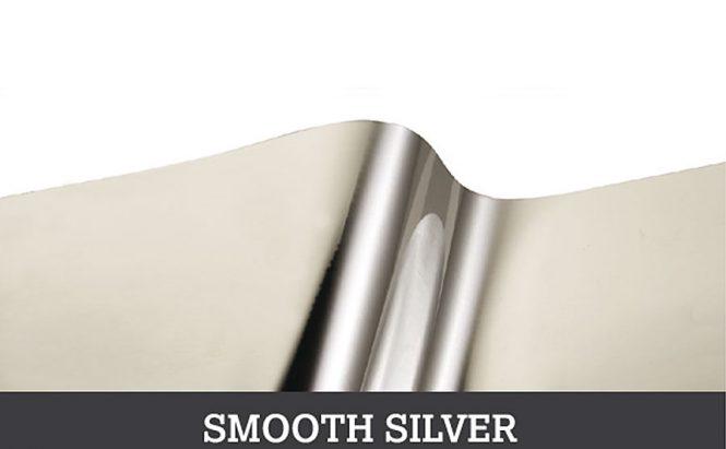 Smooth Silver Metallic Vinyls