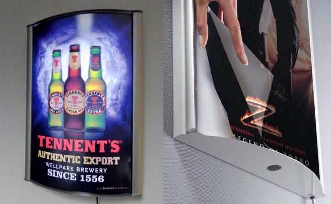 D-Light Poster Boxes